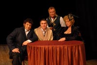 Слева-направо: М. Полицеймако, А. Кирющенко, С. Шакуров, М. Аронова