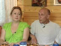 Фото Марии Ароновой с мужем Евгением